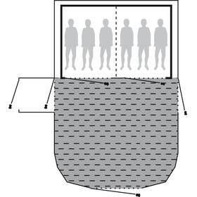 Outwell Montana 6P Akcesoria do namiotu 3-Layer Insulate szary
